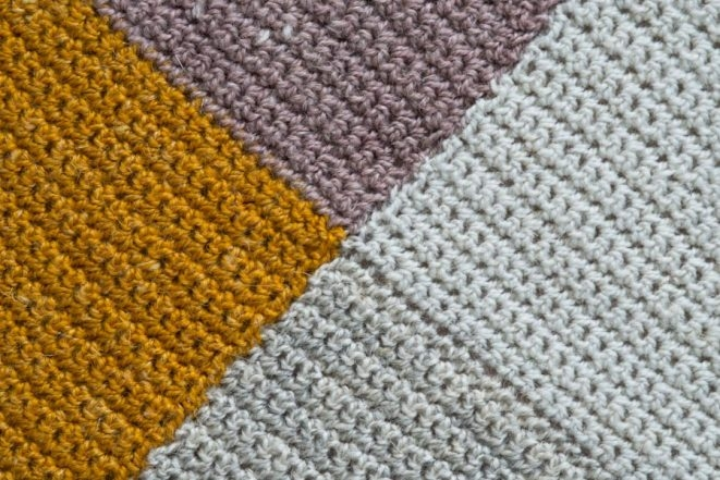 Crochet Four Points Baby Blanket | Purl Soho