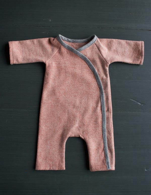 Sewn Layette in Cozy Flannel