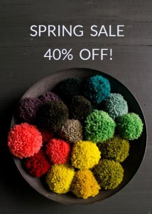 Purl Soho's Spring Sale!