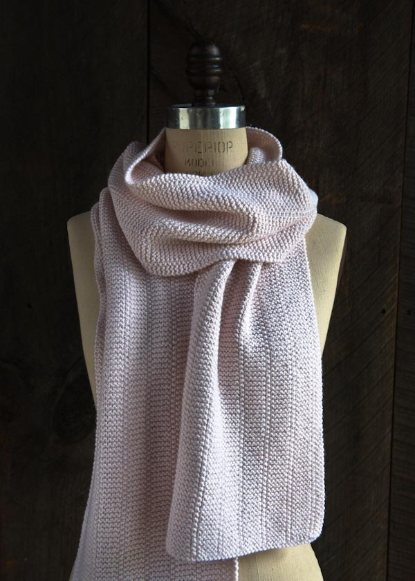 Simple Knit Purl Scarf Patterns : Broken Garter Scarf Purl Soho