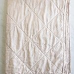 Wholecloth Quilts in Mineral Linen