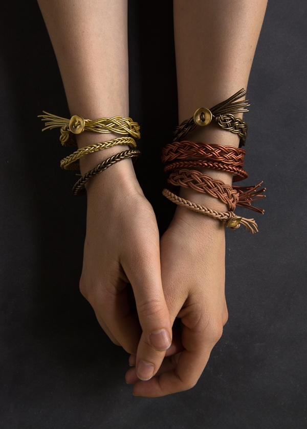 Braided Leather Bracelets | Purl Soho