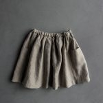 Gathered Skirt for All Ages in Mineral Linen
