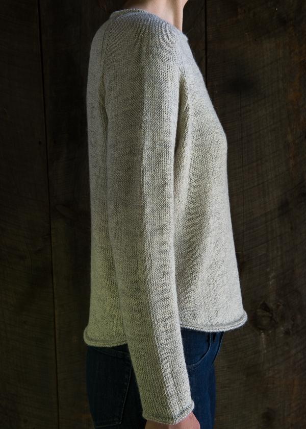 Lightweight Raglan Pullover Purl Soho