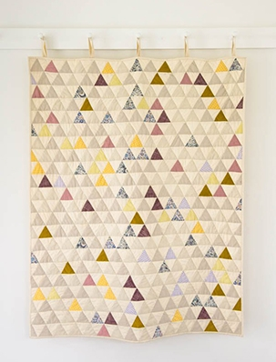 Little Peaks Quilt | Purl Soho