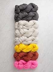 Yarn for Ticking Stripe Wrap