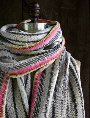 Ticking Stripe Wrap | Purl Soho
