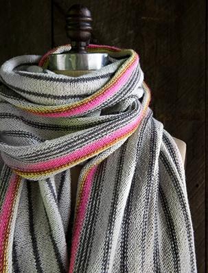 Ticking Stripe Wrap | Purl Soho