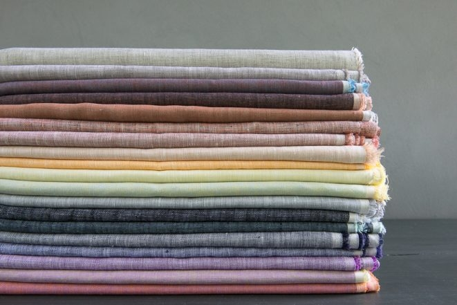 New Fabric Collection: Purl Soho's Watercolor Linen | Purl Soho