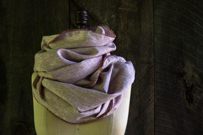 Watercolor Linen Wrap | Purl Soho