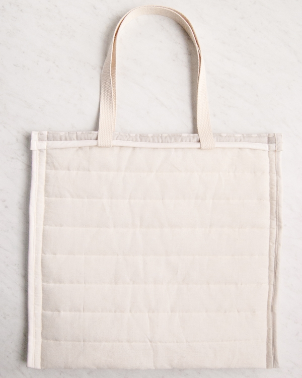 79f0bcf342c Puffy Tote in Nani Iro's Quilted Double Gauze | Purl Soho