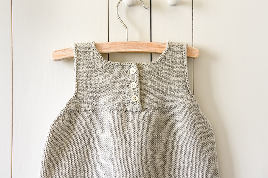 Simple Knit Dress Pattern : Clean + Simple Baby Dress Purl Soho