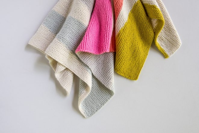 Colorful Wedges Baby Blanket | Purl Soho