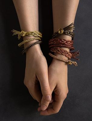 Braided Leather Bracelets | Purl Soho