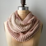 Two-Color Cotton Cowl