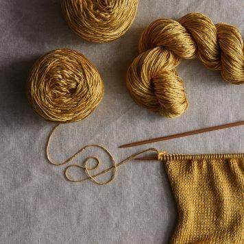 New Yarn: Spun Silk