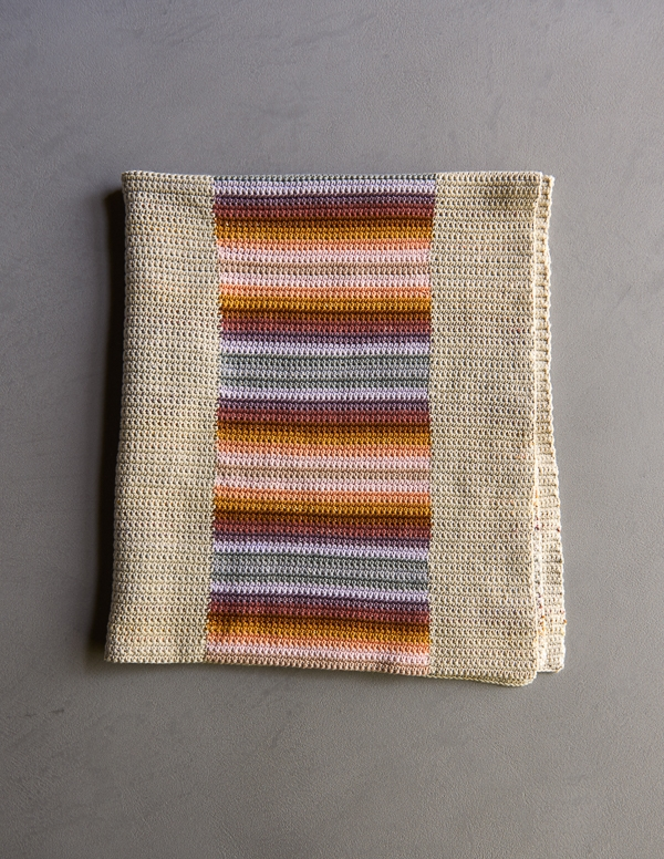 Stacked Coins Blanket | Purl Soho