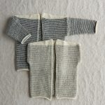 Tiny Stripes Cardigan + Vest