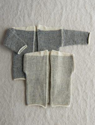 Tiny Stripes Cardigan + Vest | Purl Soho