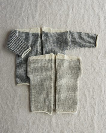Tiny Stripes Cardigan + Vest | Purl Soho