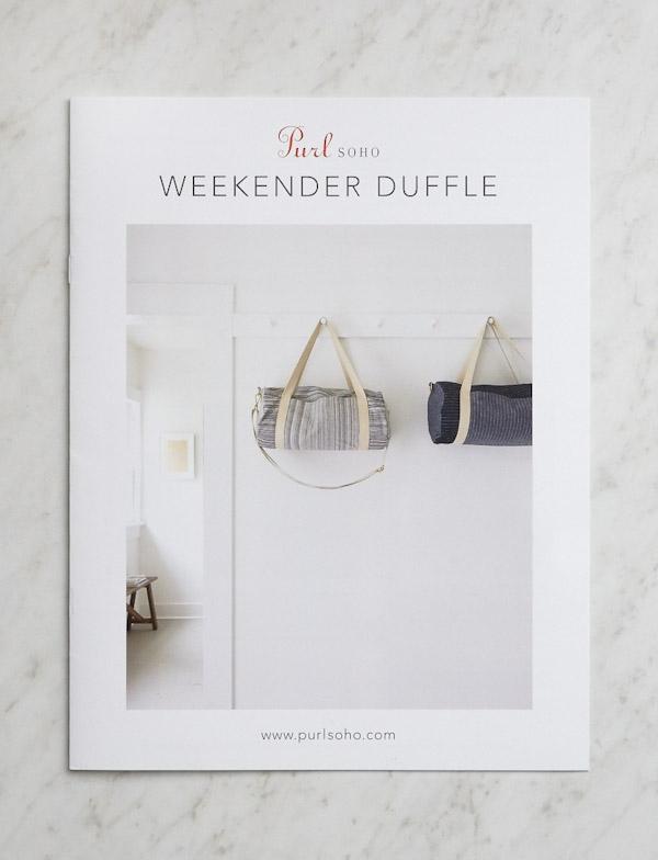 Weekender Duffle | Purl Soho