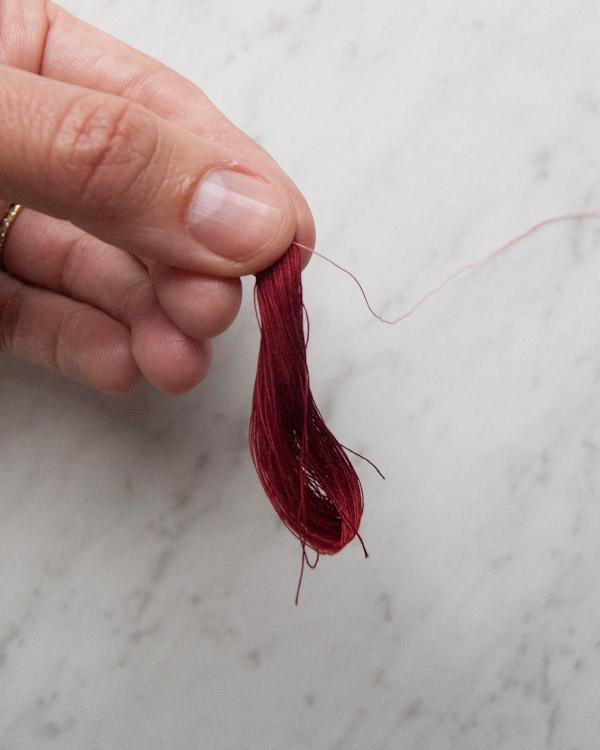 Rolled Hem Tassel Wrap | Purl Soho