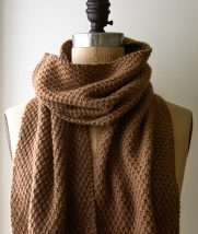 Double Seed Stitch Scarf | Purl Soho