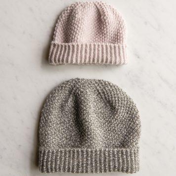 Fluffy Brioche Hat