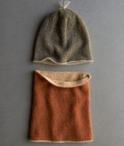 Reversible Hat + Reversible Cowl in New Colors | Purl Soho