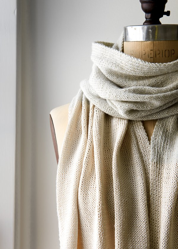 Shiny + Matte Wrap | Purl Soho