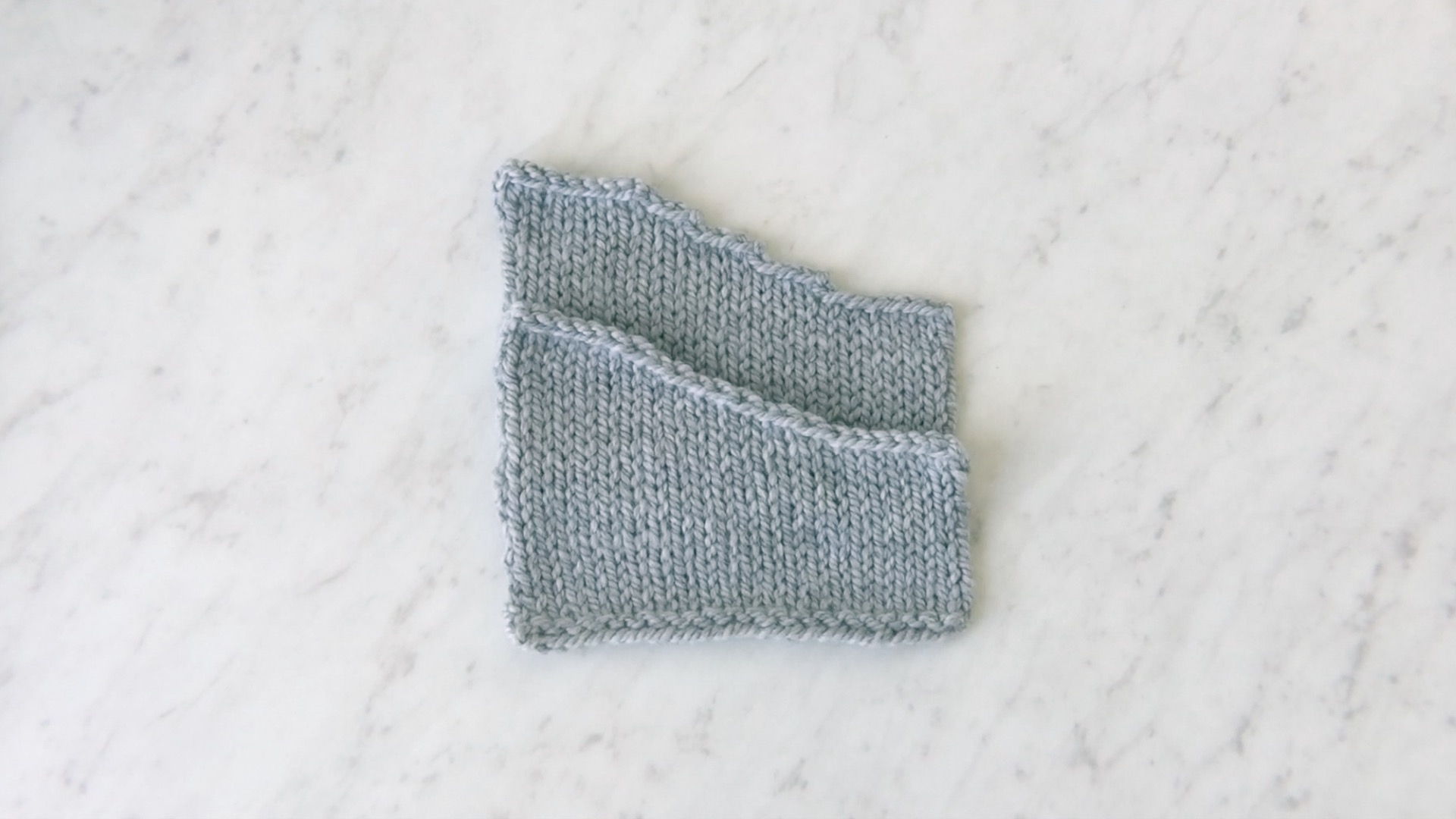 Sloped Bind Off Purl Soho