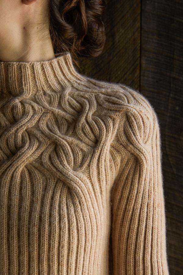 Ботанический Кокеткой Пуловер | Перл Сохо