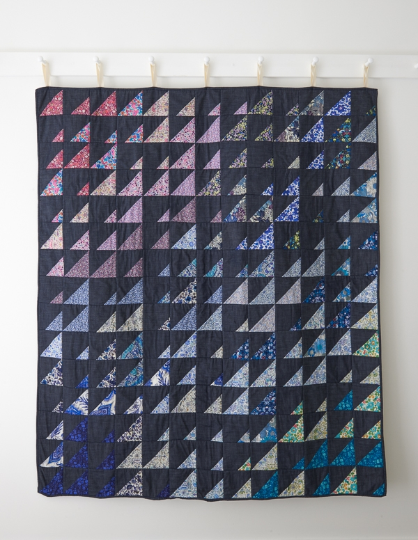 Prism Quilt in Liberty of London, Cool Bundle | Purl Soho