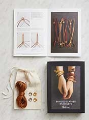 Braided Leather Bracelet Kit
