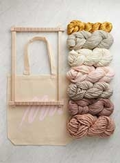 Frame Loom + Yarn Bundle