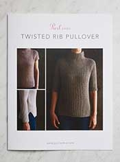 Twisted Rib Pullover Pattern
