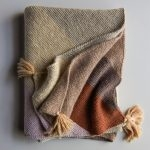 Rectangular Colorblock Bias Blanket in New Colors