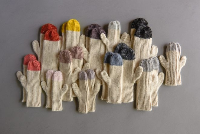 Twisted Rib Hat + Mittens | Purl Soho