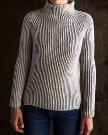 Twisted Rib Pullover | Purl Soho