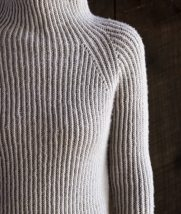 Twisted Rib Pullover | Purl Soho