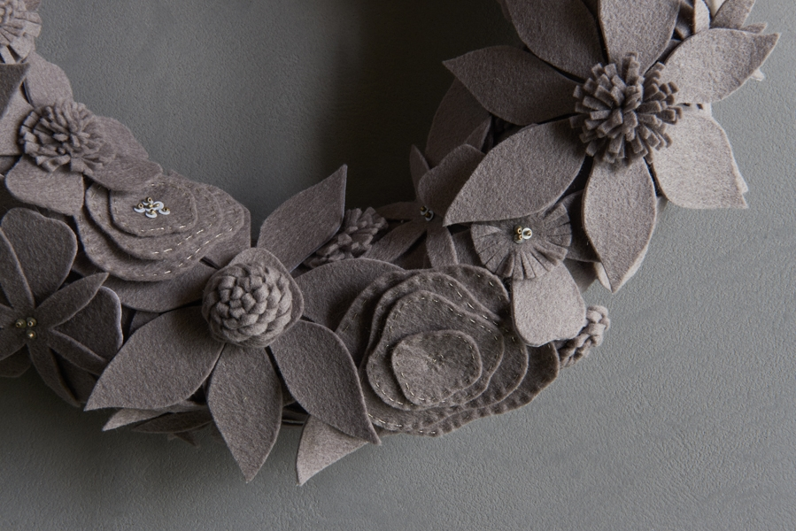 Winter Wreaths in New Colors | Purl Soho