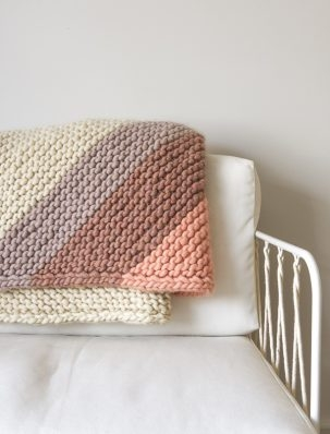 Colorful Corner Blanket | Purl Soho