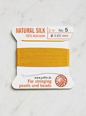 Silk Bead Cord, No. 5