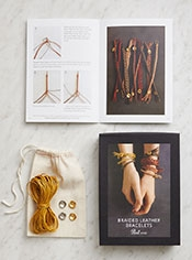 Braided Leather Bracelet Kit
