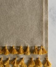 Wool Wrap with Silk Tassels | Purl Soho