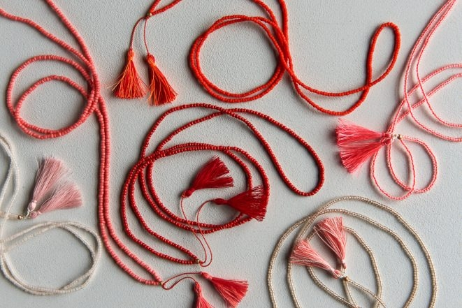 Beads + Tassels Necklaces for Valentine's Day | Purl Soho