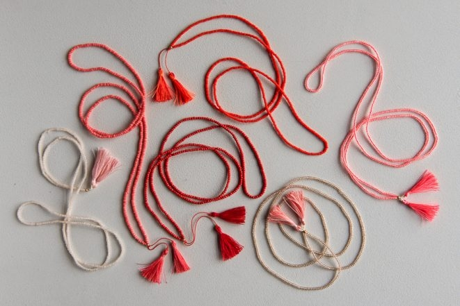 Beads + Tassels Necklaces for Valentine's Day   Purl Soho