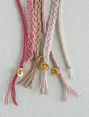 Braided Leather Bracelets for Valentine's Day | Purl Soho