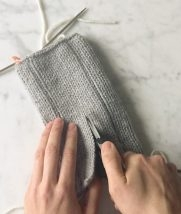 Steek with Knit Facing | Purl Soho
