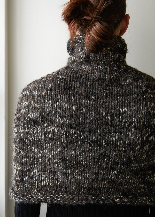 Mountain Capelet in Shepherdess Alpaca | Purl Soho